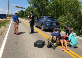 Accident survivor, councilor urge caution at Monon Greenway crossings