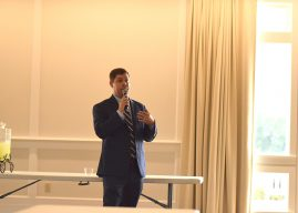 Needler's opening, road construction discussed at town hall meeting