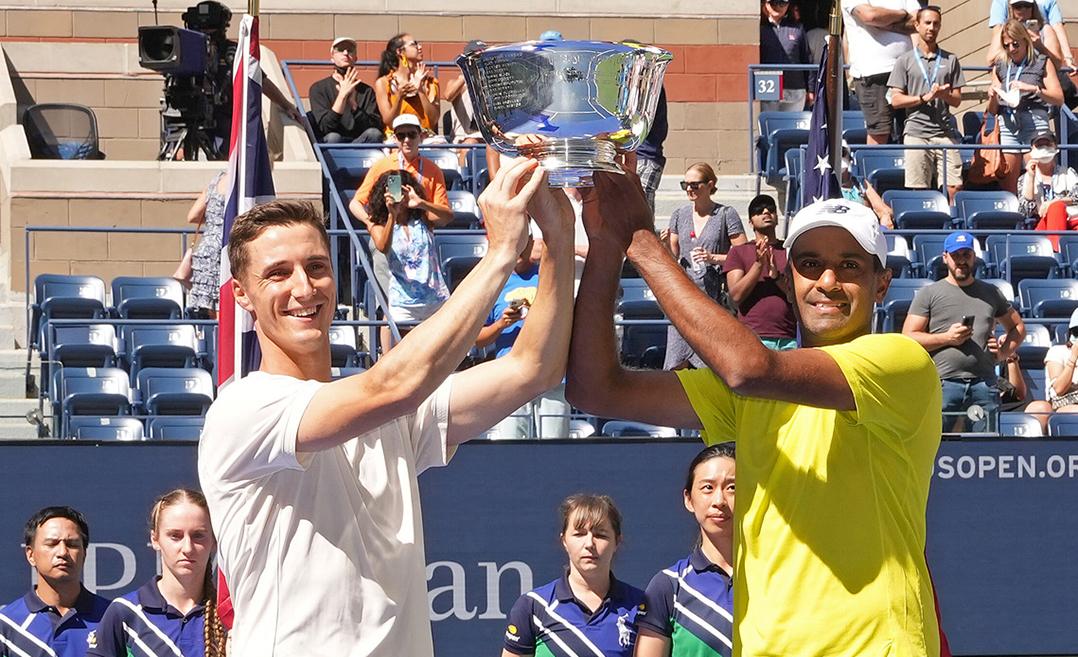 Carmel High School grad Ram caps Slam success with U.S. Open doubles crown