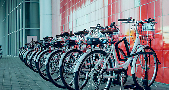 Private company Zagster provided the city with bikes to begin a bike-share program in April. (File photo)