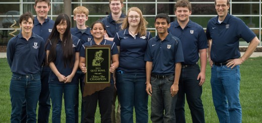 Pictured in the photo (left to right) are: (Front row) Coach Beth Vreede, Julia Wang, Monica Chavan, Christina Duffield and Neil Chavan. (Back row) Paul Szewczyk, Evan Vesper, Kevin Bonar, Alex Rosebrough, Coach Chris Bradley. The student not pictured is Bob Berwanger. (Submitted photo)