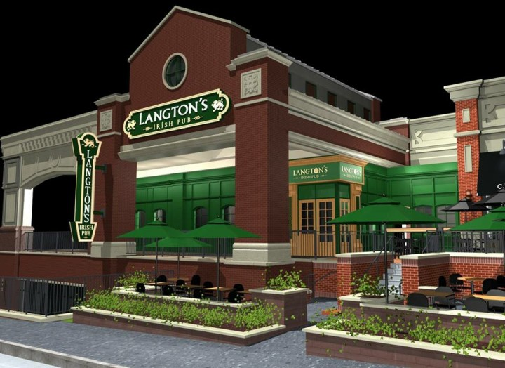 A rendering of Langton's. (Submitted photo) �����������������