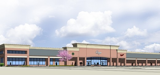 A rendering of the new Kroger. (Submitted image)