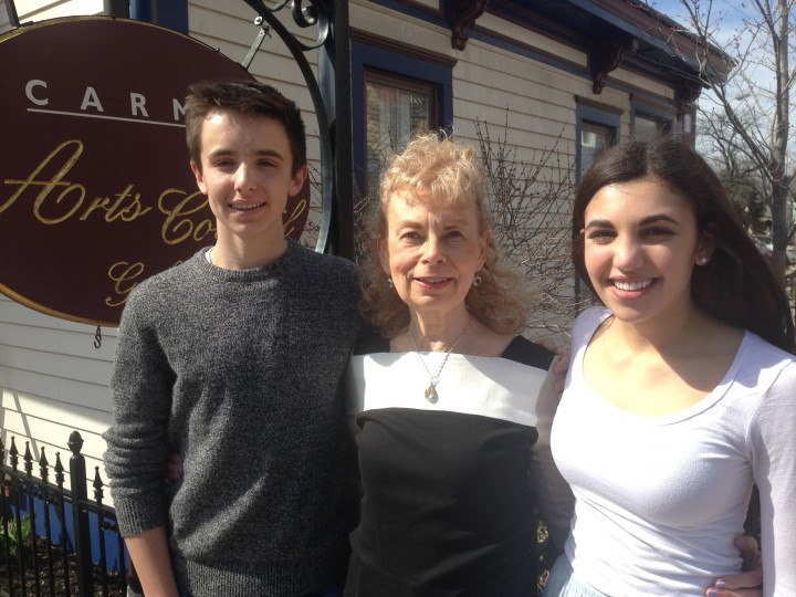 From left: Ethan McAndrews, Harriet Warkel and Ally Russell. (Submitted photo)