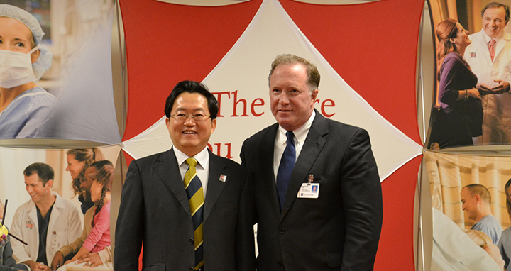 IU Health builds China-Japan relationships | Current Publishing