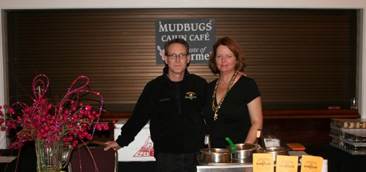 Roy and Kelly LeBlanc from Mudbugs at last years Taste of Carmel. �����������������
