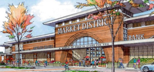 A rendering of the new Market District. (Submitted photo)