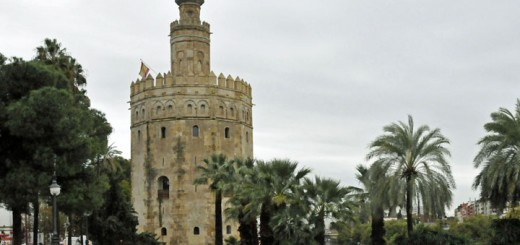 Torre del Oro in Seville, Spain. (Photo by Don Knebel)