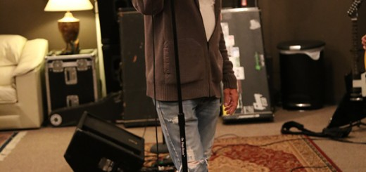 Garrett pauses during rehearsal. He is preparing for a concert in Indianapolis July 25.
